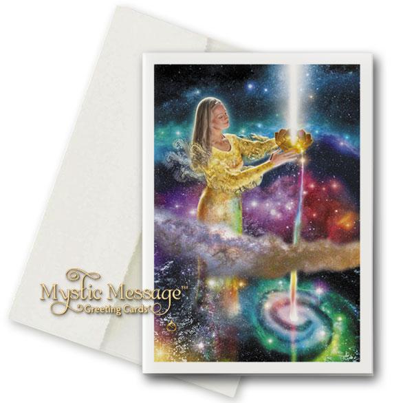 Celestial River Greeting Card