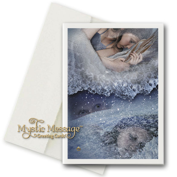 Perchance to Dream Greeting Card by Sonya Shannon