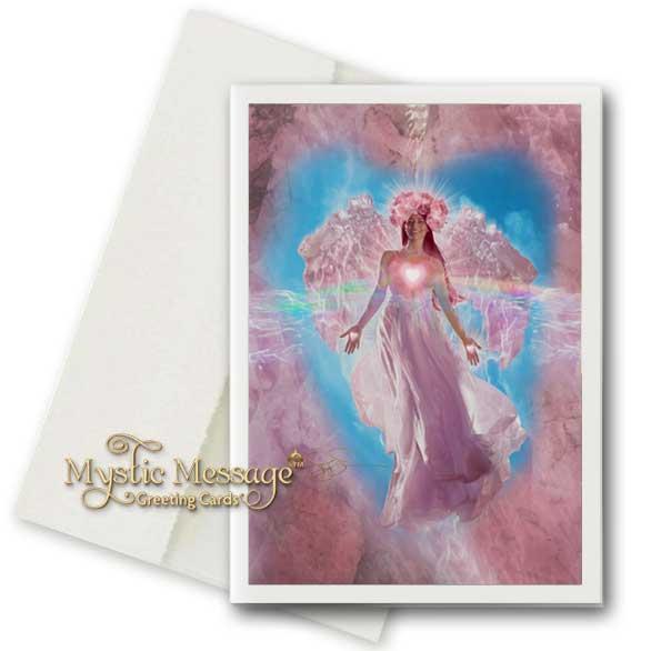 Rose Quartz Crystal Angel