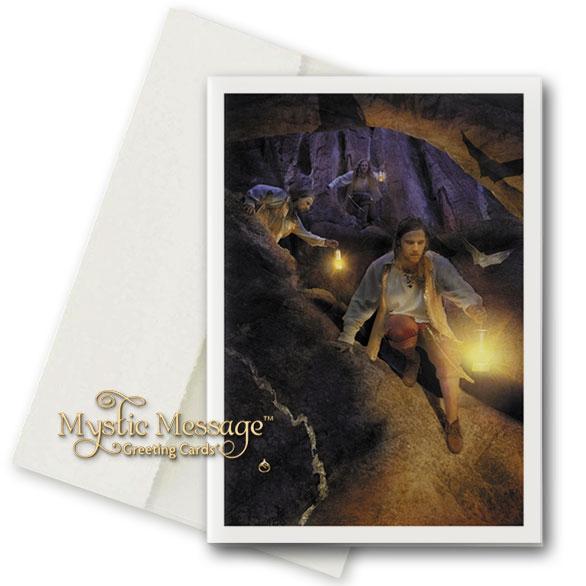 Treasure Hunt Greeting Card by Sonya Shannon