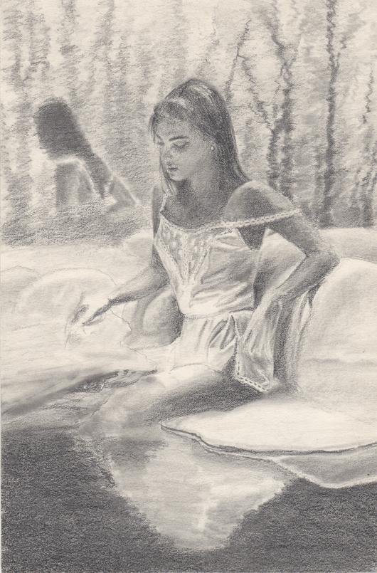 Dream Journal pencil sketch
