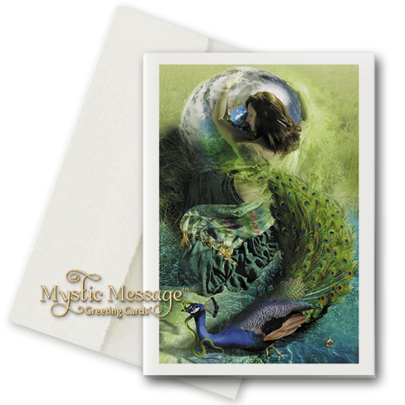 Into White Greeting Card