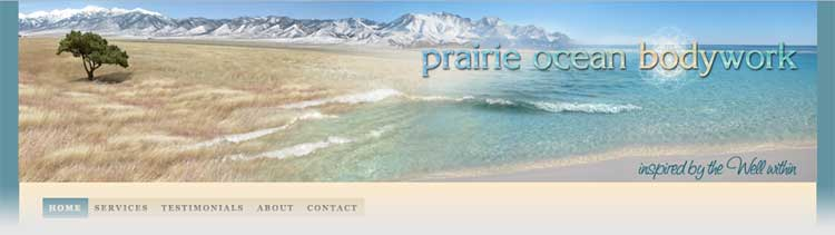 Prairie Ocean Website
