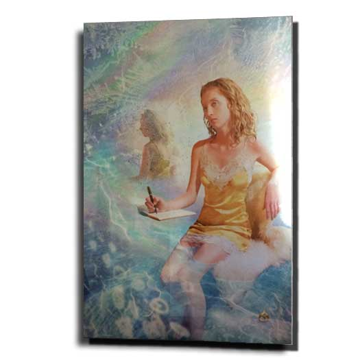 Dream Journal Infused Aluminum by Sonya Shannon